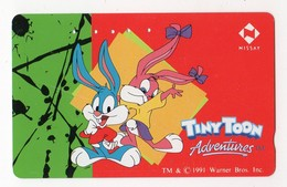 JAPON TELECARTE WARNER BROS TINY TOON Date 1991 - Comics