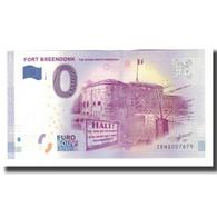 Belgique, Billet Touristique - 0 Euro, Belgium - Willebroek - Le Fort Breendonk - België