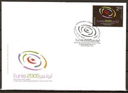 Ukraine 2005 MiNr. 731 World Summit On The Information Society Tunis FDC 2,50 € - Informatica