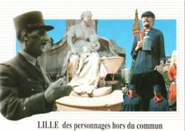 CPM 59 (Nord) Lille - Des Personnages Hors Du Commun TBE Général Charles De Gaulle, ... - Politieke En Militaire Mannen