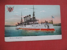 U.S.S. Pensylvania       Ref 4104 - Warships