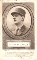 Image Le Général Charles De Gaulle Et Extrait De L'Appel Du 18 Juin 1940, édit. A. Joinard - Politieke En Militaire Mannen