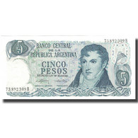 Billet, Argentine, 5 Pesos, Undated (1974-76), KM:294, SPL - Argentine