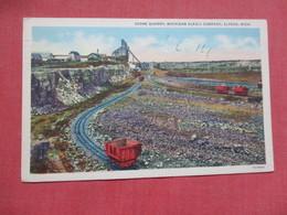 Stone Quarry Michigan Alkali Co. Alpena  Michigan >       Ref 4104 - Other