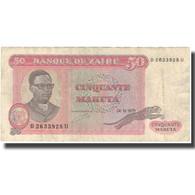 Billet, Zaïre, 50 Makuta, 1979, 1979-11-24, KM:17a, TB+ - Zaire