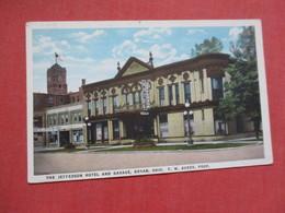 Jefferson Hotel & Garage  Bryan Ohio         Ref 4105 - United States