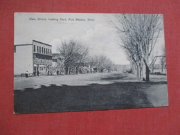 Main Street  Fort Benton  Montana     Ref 4105 - United States