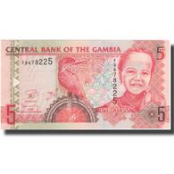 Billet, The Gambia, 5 Dalasis, 2006, 2006, KM:25, SUP+ - Gambie