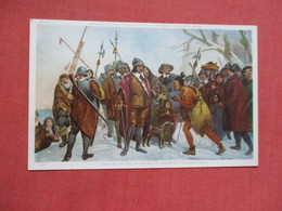 Landing Of The Pilgrims   Ref 4105 - Indiaans (Noord-Amerikaans)