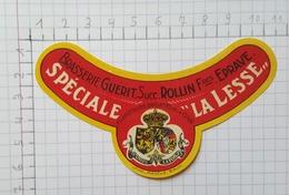ETIQUETTE  BRASSERIE GUERIT Succ. ROLLIN Fres EPRAVE SPECIALE LA LESSE - Bier