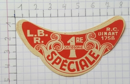 ETIQUETTE  BRASSERIE BOUTY ROMEDENNE SPECIALE - Bier