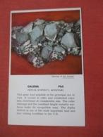 Galena   Mining Joplin District  Missouri >      Ref 4105 - United States