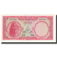 Billet, Cambodge, 5 Riels, KM:10b, TTB - Kambodscha