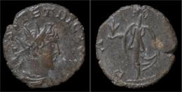 Tetricus II Billon Antoninianus Pax Standing Left - 5. Der Soldatenkaiser (die Militärkrise) (235 / 284)