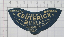ETIQUETTE  BROUWERIJ CEUTERICK ASPER -1 - Bier