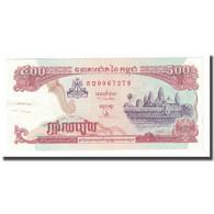 Billet, Cambodge, 500 Riels, 1996-1998, KM:43a, TTB - Kambodscha