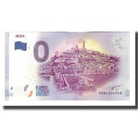 Espagne, Billet Touristique - 0 Euro, Spain - Ibiza - Le Port D'Eivissa, 2017 - Spain