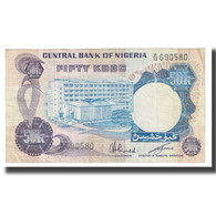 Billet, Nigéria, 50 Kobo, KM:14d, TTB - Nigeria