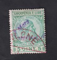 ALBANIE 1914 PRINCIPAUTÉ    TIMBRE N°32 OBLITÉRÉ - Albanien