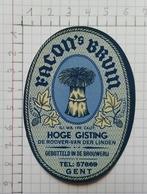 ETIQUETTE  BRASSERIE FACON GENT FACON'S  BRUIN - Bier