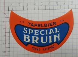 ETIQUETTE  BRASSERIE MEIRESONNE GENT TAFELBIER SPECIAL BRUIN -2 - Bier