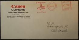 Belgium - Advertising Meter Franking Cover 1984  Logo Canon B3910 - Franking Machines