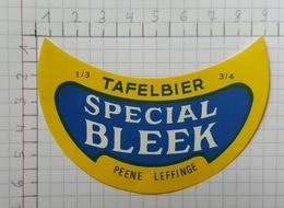 ETIQUETTE  BRASSERIE MEIRESONNE GENT TAFELBIER SPECIAL BLEEK -1 - Bier