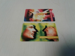 Germany - 2 Private A-chipcards - Germany