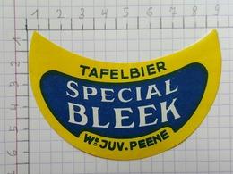 ETIQUETTE  BRASSERIE MEIRESONNE GENT TAFELBIER SPECIAL BLEEK -2 - Bier