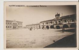 Santo Domingo De La Calzada. Carte Photo .Ayuntamiento Y Escuelas. - La Rioja (Logrono)