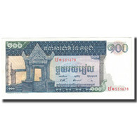 Billet, Cambodge, 100 Riels, KM:12a, TTB - Kambodscha