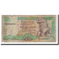 Billet, Sri Lanka, 10 Rupees, 1992, 1992-07-01, KM:102b, B - Sri Lanka