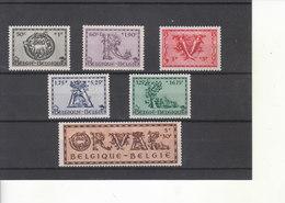 625/30* Charnière - Cinquième ORVAL - Série Dite Lettrines - Belgique
