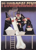 Fluorocalcine  (carte Moderne) - Advertising