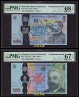 Romania 100 Lei, (2018/2019), Commemorative Polymer Note, PMG68/67 - Romania