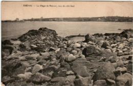 61ths 410 CPA - TREVOU - LA PLAGE DE TRESTEL - Frankrijk