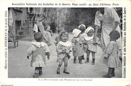 76 .n° 110243 . Etretat . La Pouponniere Des Orphelins De La Guerre . Cree Le 2 Aout 1914 . - Etretat