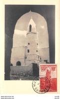 1954 - Carte Maximum - N°151331 - Comore - Mosquée D'ouadni - Cachet - Mutsamudu - Comoros