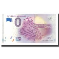 Portugal, Billet Touristique - 0 Euro, Portugal - Alto Douro - Le Vignoble De La - Jetons & Médailles