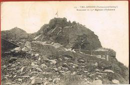 68- VIEIL ARMAND- Hartmannswillerkopf- Monument Du 152 ° Régiment D'Infanterie-Au Verso 2 Timbres J.O.PARiS 1924 - Francia
