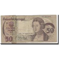 Billet, Portugal, 50 Escudos, 1980, 1980-02-01, KM:174b, TB - Portugal