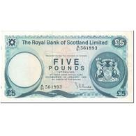 Billet, Scotland, 5 Pounds, 1981, 1981-01-10, KM:337a, SUP - 5 Pounds