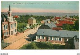 02.BRANCOURT LE GRAND.n°48.MAIRIE,MONUMENT ET LA POSTE.PANORAMA - Autres Communes