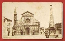 Photo Ancienne Di Giacomo BROGI Firenze Fotografo Editore - Chiesa Di S.Maria Novella Firenze-Format CDV - Lugares