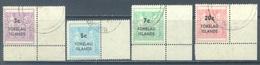 TOKELAU - USED/OBLIT. - 1967 - Yv 12-15 TAX OVERPRINT -  Lot 21648 - Tokelau