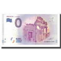 Italie, Billet Touristique - 0 Euro, Italy - Brescia - Le Capitolium, 2017, NEUF - Otros