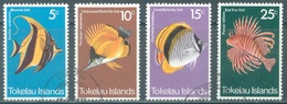 TOKELAU - USED/OBLIT. - 1975 - FISH - Yv 45-48 -  Lot 21649 - Tokelau