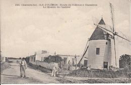 17 - Oléron - Moulin De L'Aubier - CPA Animée - Ile D'Oléron