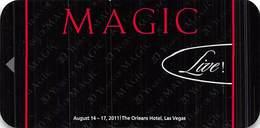 Orleand Casino - Las Vegas, NV - Narrow Hotel Room Key Card - Hotel Keycards