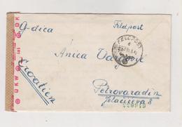CROATIA, WW II,GERMANY Military Cover 1942 Feldpost 40643,Croatian Air Forces (15. Staffel (Kroat ) KAMPF -GESCHWEDER 53 - Croatie